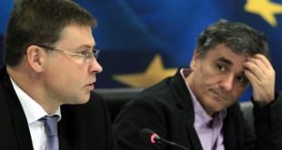 Ντομπρόβσκις: Το 2014 θα βγαίνατε από το μνημόνιο!