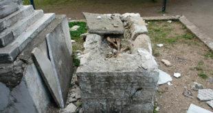 Σύληση και βανδαλισμός ταφικού μνημείου στην Ειδομένη