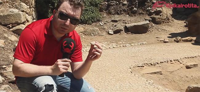 Τάφος του Αριστοτέλη - Εγκαταλειμμένος και αφύλακτος!