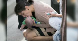Όταν ο ανιψιός της (βρέφος) έπαψε να αναπνέει...δείτε τι έκανε! (Βίντεο)