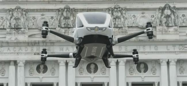 Συγκλονηστικό! Το πρώτο drone για ανθρώπους! (Βίντεο)
