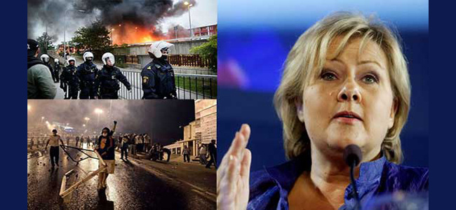 Νορβηγία: Θα εγκαταλείψουμε την Συνθήκη της Γενεύης αν δούμε την Σουηδία να καταστρέφετε από τους Μουσουλμάνους λαθρομετανάστες!