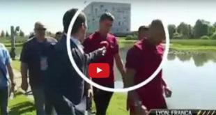Ο Κριστιάνο Ρονάλντο επιτείθεται σε δημοσιογράφο και του πετάει το μικρόφωνο! (Βίντεο)