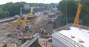 Απίστευτο! Έφτιαξαν μέσα σε 2 μέρες (!) τούνελ 70 μέτρων κάτω από την Εθνική! (Βίντεο)