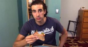 Χορτοφάγος έφαγε καταλάθος κασέρι on camera και έπαθε νευρικό κλονισμό! (Βίντεο)