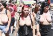 Γυναίκες διαδηλώνουν Topless για την ισότητα των φύλων! (Βίντεο)