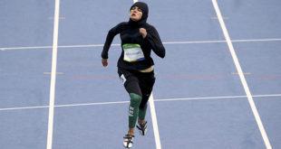 Μετά την βολεϊμπολίστρια με hijab...τώρα και δρομέας 100 μέτρων με hijab!