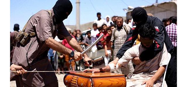 Συρία (ISIS): Κόψανε το χέρι του κλέφτη στην πλατεία ως τιμωρία!