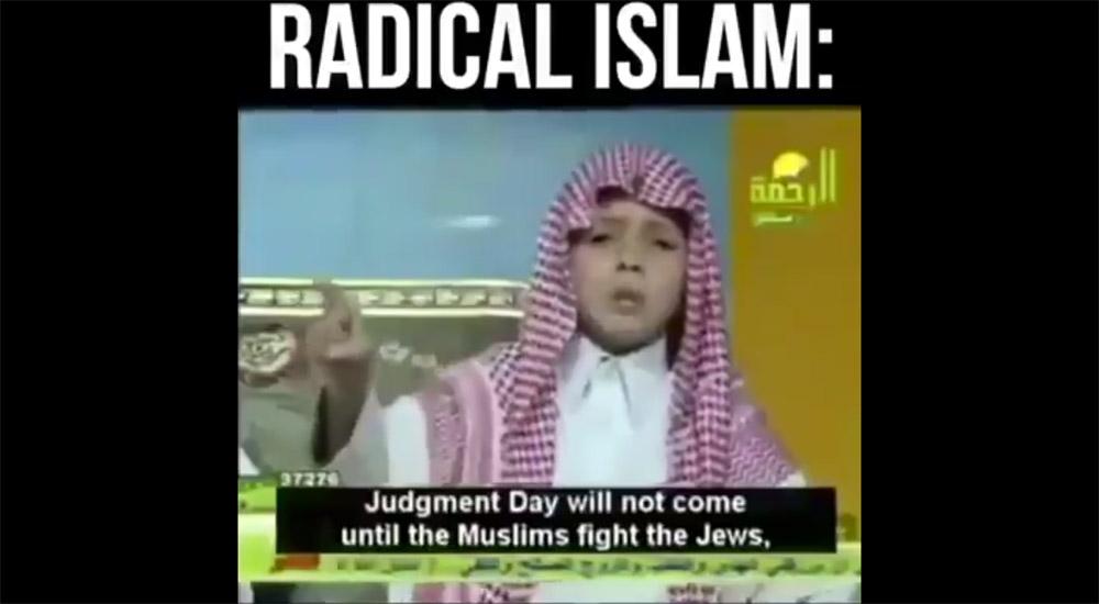 6χρονο παιδί κηρύττει για το Ισλάμ και προτρέπει τους μουσουλμάνους να σκοτώσουν όλους τους Εβραίους! (Βίντεο)