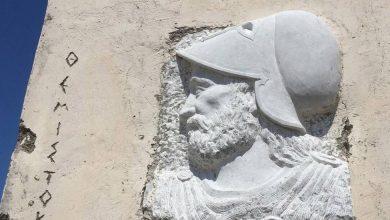 Εγκαταλελειμμένος ο τάφος του Θεμιστοκλή – Ντροπή και αγανάκτηση προκαλεί η κατάσταση...