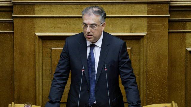 Θεοδωρικάκος στην Βουλή